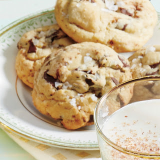 Browned Butter & Chocolate Chunk Cookies with Flake Salt
