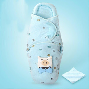 Sistem de infasare bebe, bumbac, 0-6 luni