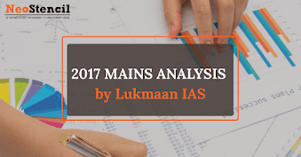 Lukmaan IAS: Test Questions reflected in 2017 UPSC Mains Exam