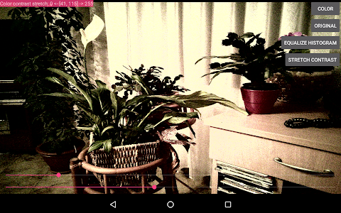 IpLab Histogram Live Demo screenshot 2