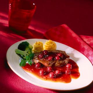 Kirsch-Lebkuchen-Sauce z. B. zu Rumpsteak