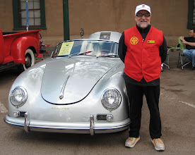 Photo: David Berardinelli and his late (sold) 356 Porsche!
