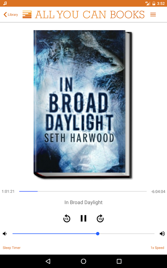 Unlimited AudioBooks- screenshot
