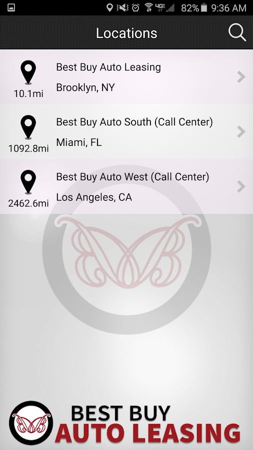 Best Buy Auto Leasing- screenshot