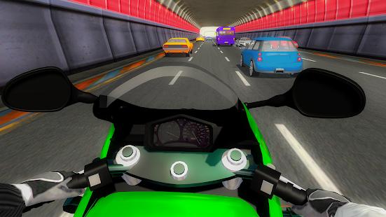 Motor Traffic Rider: Traffic Games - náhled