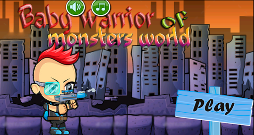 Baby Warrior of monsters world
