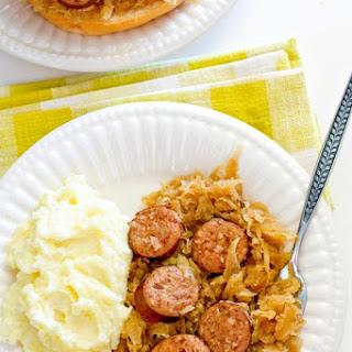 Kielbasa Kapusta - slow cooker recipe!.