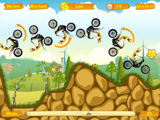 Moto Race Pro -- physics motorcycle racing game