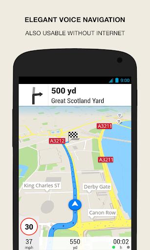 GPS Navigation & Maps - Scout  screenshots 2