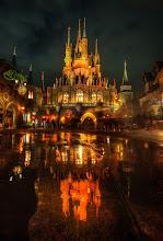 Photo: Disney Castle - from Trey Ratcliff at http://www.StuckInCustoms.com