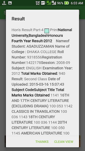 NU Results BD 2.1 screenshots 3