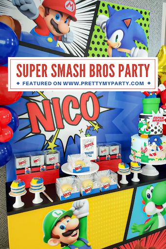 Super Smash Bros Party