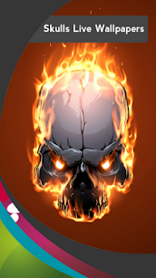 Skulls Live Wallpapers Apk 9