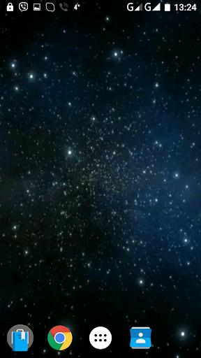 宇宙3D录像的墙纸