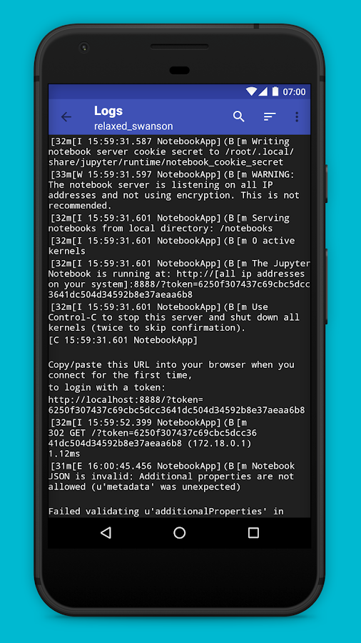 Androcker: Docker Companion- screenshot