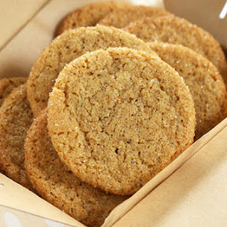 Soft and Chewy Gluten Free Ginger Cookies