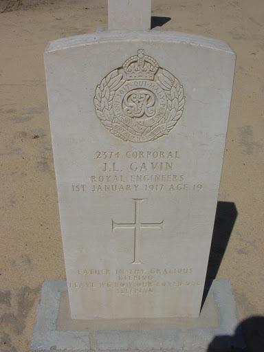 John Laurie Gavin grave