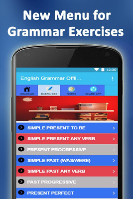 English Grammar Offline - screenshot