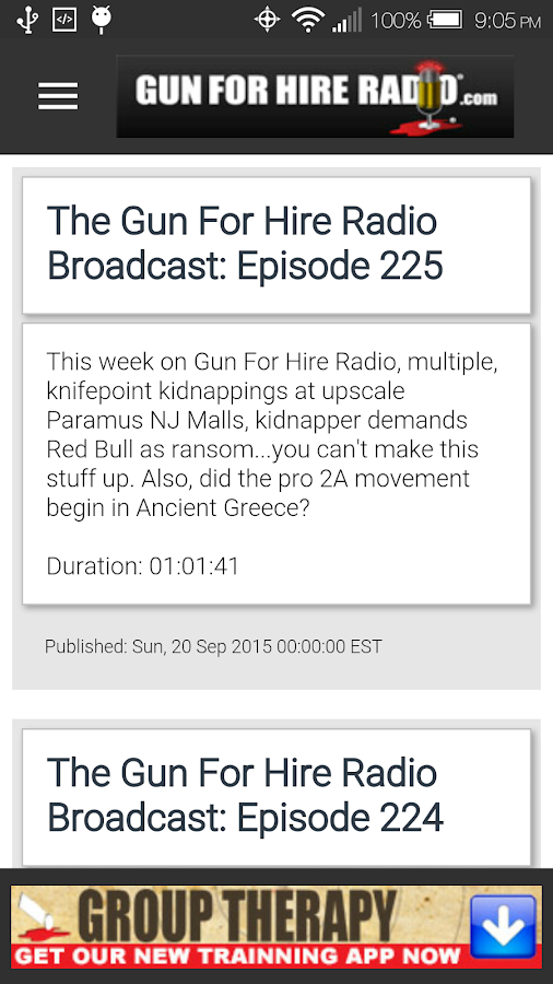 Gun For Hire Radio- screenshot