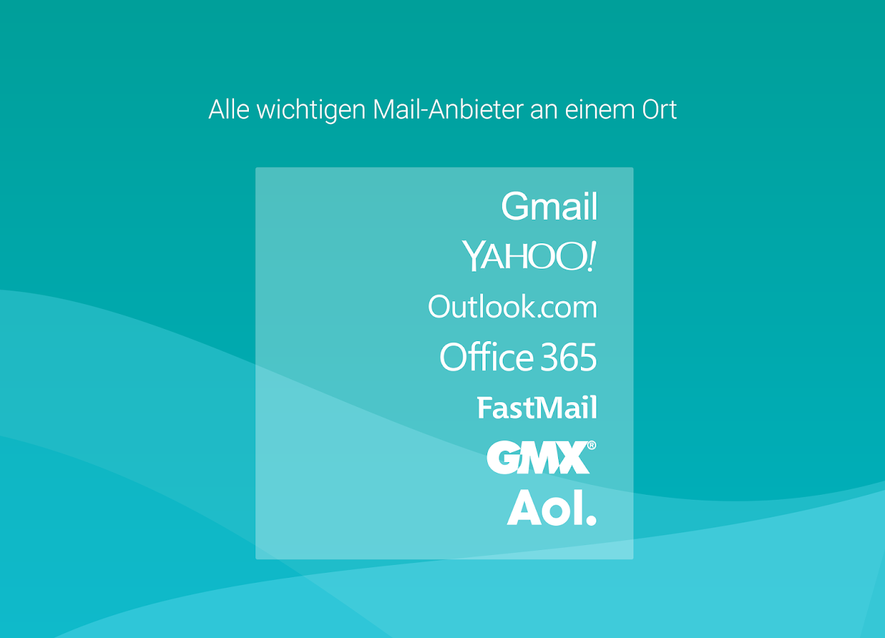 Aqua Mail - email app – Screenshot