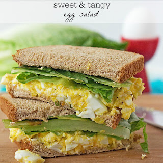 Sweet 'n Tangy Egg Salad Sandwich