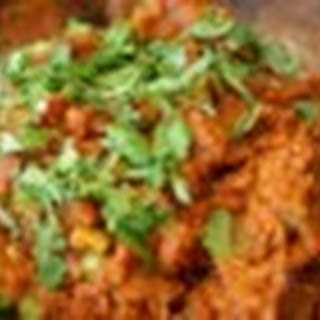 Red Lentil Curry.