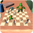 Toy Heroes Chess