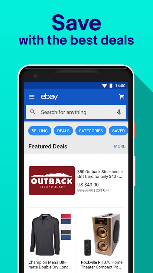 Screenshots of eBay - Buy, Sell & Save Money with Discount Deals for iPhone
