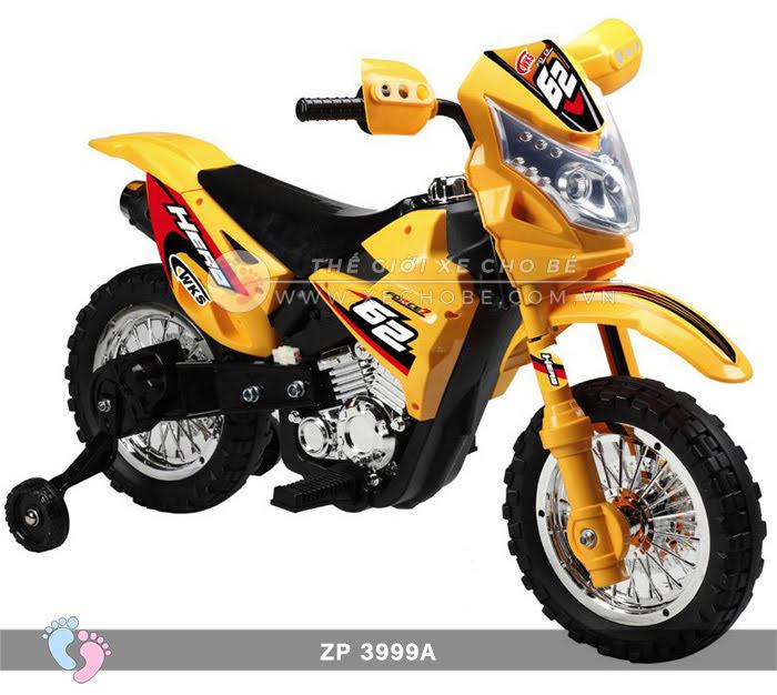Xe mô tô điện 2 bánh địa hình cho bé ZP3999A 8