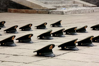 Photo: Day 190 -  Soldiers' Hats in Zhongshan Park (China)