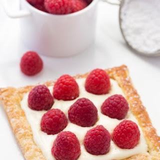 Lemon Raspberry Tarts for Two.