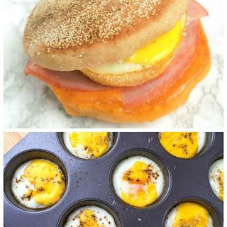 Egg, Ham and Cheese Breakfast Sandwiches Recipe
