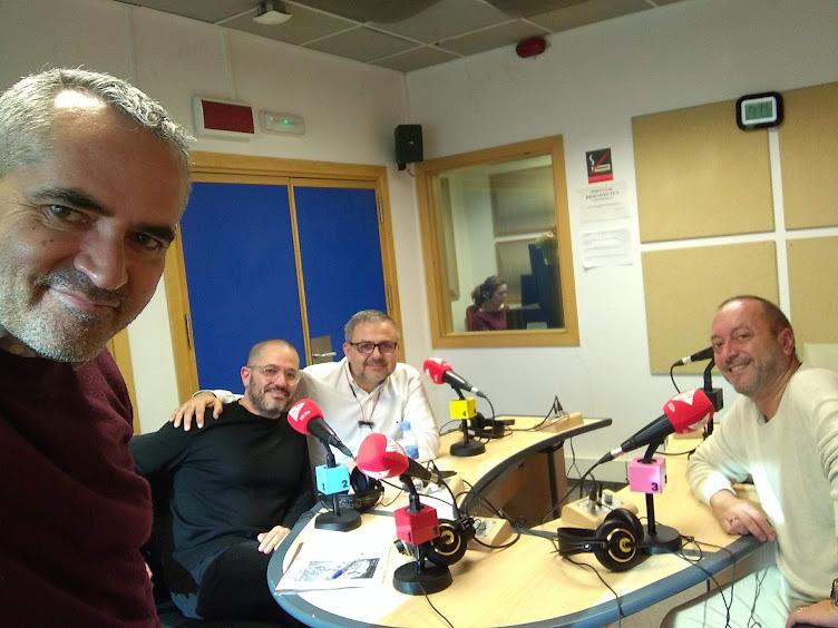 Programa 103 en la UPV-Radio. Didac Balleser