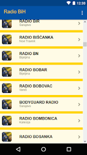 Radio Bosna i Hercegovina - náhled