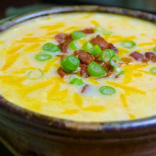 Instant Pot 8-Minute Cheesy Potato Soup.