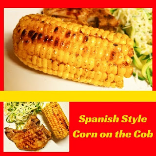 Spanish Style Corn on the Cob