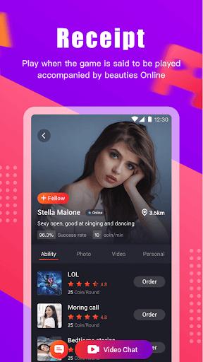 pick me-Girl Live Video Call& Chat app screenshot 3