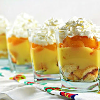 Peach Trifle Dessert Recipes.