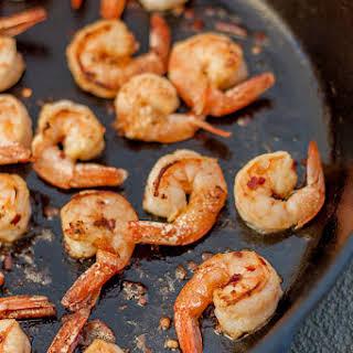 Easy Blackened Seasoned Shrimp.