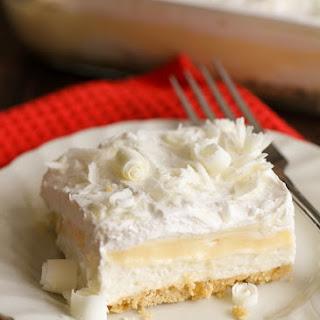 White Chocolate Lasagna.