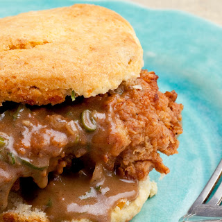 Chicken and Biscuits with Redeye Gravy