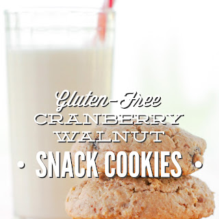Cranberry Walnut Snack Cookies