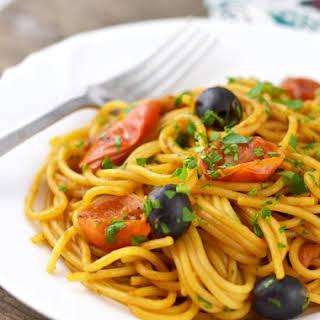 Spaghetti Alla Putanesca.