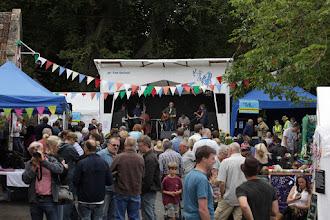 Photo: Free Village Green Stage © Priston Festival 2012