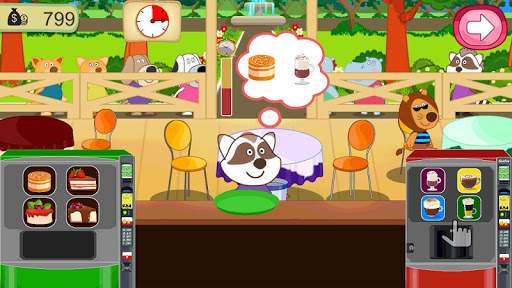 cafe mania: kids cooking games screenshot 2