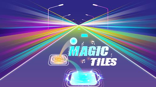 Magic Tiles 3D Hop EDM Rush! Music Game Forever screenshots 1
