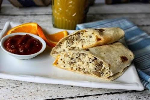 Breakfast Burritos - Easy Versatile Freezer