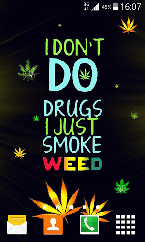 Weed Live Wallpaper Android App Screenshot Weed Live Wallpaper Android App Screenshot ...