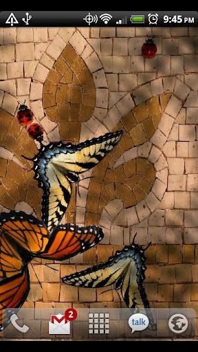 Friendly Bugs Live Wallpaper screenshot 1