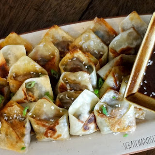 Easy Asian Dumplings